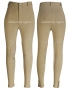 BREECH NIÑA/NIÑO COTTON KNEE PATCH BEIGE